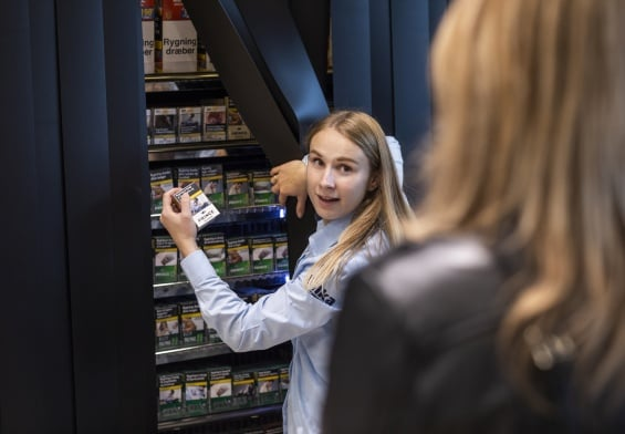 PRESSEMEDDELELSE: Et år med skjult tobak – 50 mio. færre solgte cigaretter i Netto, føtex og Bilka
