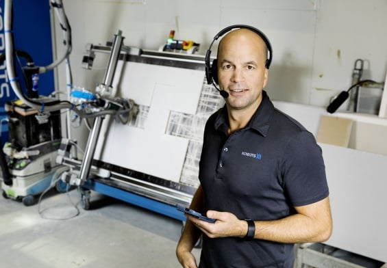 PRESSEMEDDELELSE - Fynsk stemmestyret byggerobot nomineret til DIRA Teknologiprisen
