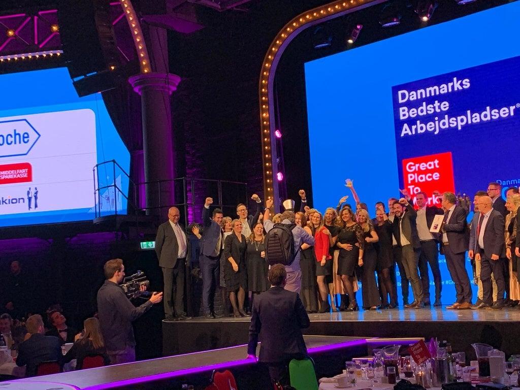 PRESSEMEDDELELSE: Roche Pharmaceuticals er Danmarks bedste arbejdsplads 2019