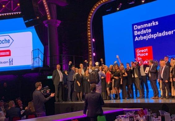PRESSEMEDDELELSE - Roche Pharmaceuticals er Danmarks bedste arbejdsplads 2019