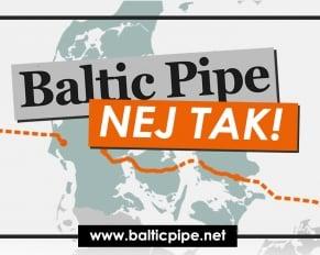 Pressemeddelelse - Baltic Pipe, nej tak - Logo