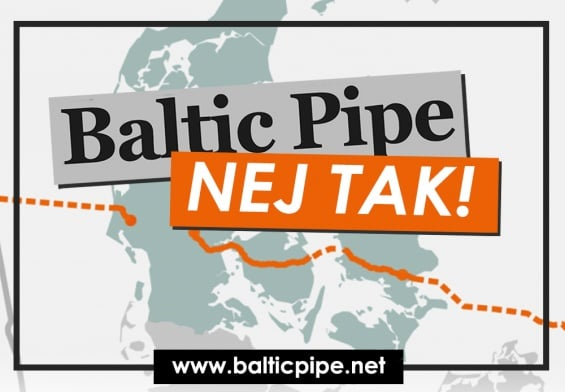 Pressemeddelelse - Baltic Pipe, nej tak - Logo
