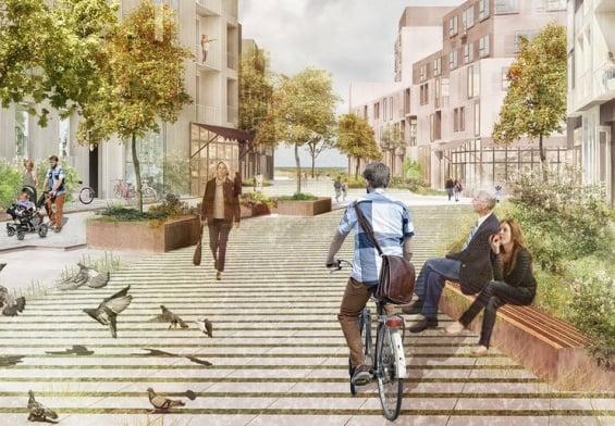 PRESSEMEDDELELSE: Arkitekter udpeget til 500 nye bæredygtige boliger med unik beliggenhed ud til Køge Kyst
