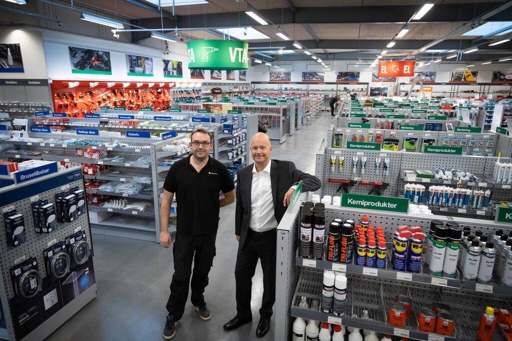 PRESSEMEDDELELSE: Flagskibsbutik skabt i dialog med håndværkere i Nordsjælland