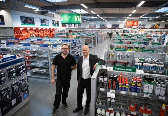 PRESSEMEDDELELSE - Flagskibsbutik skabt i dialog med håndværkere i Nordsjælland