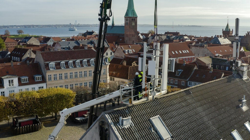PRESSEMEDDELELSE: TDC NET åbner 5G-pilotprojekt i Helsingør
