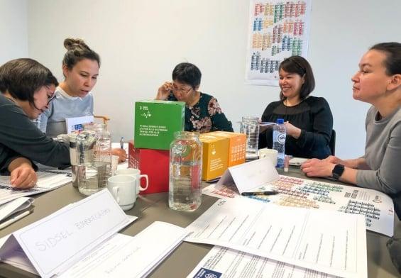 PRESSEMEDDELELSE - Verdensmål bidrager til at udvikle grønlandsk kommune