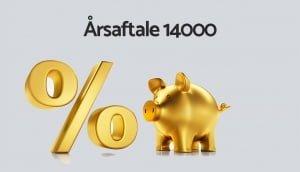 Pressemeddelelse - Årsaftale 14000 - Rabat