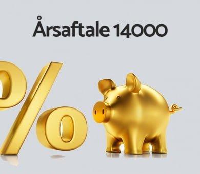 Årsaftale 14000