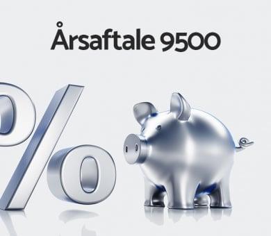 Årsaftale 9500