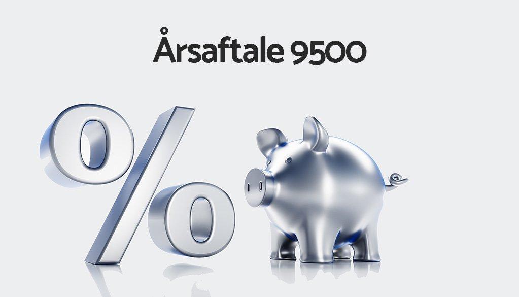 Pressemeddelelse - Årsaftale 9500 - Rabat
