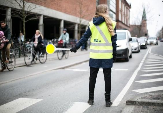 PRESSEMEDDELELSE:    Skolepatruljer får bilister til at sætte farten ned