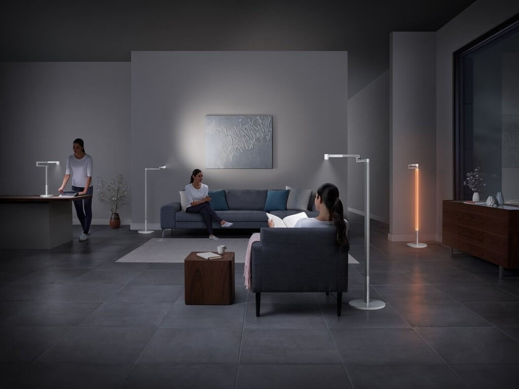 PRESSEMEDDELELSE: Dyson lancerer banebrydende, intelligent Smart Home-lampe