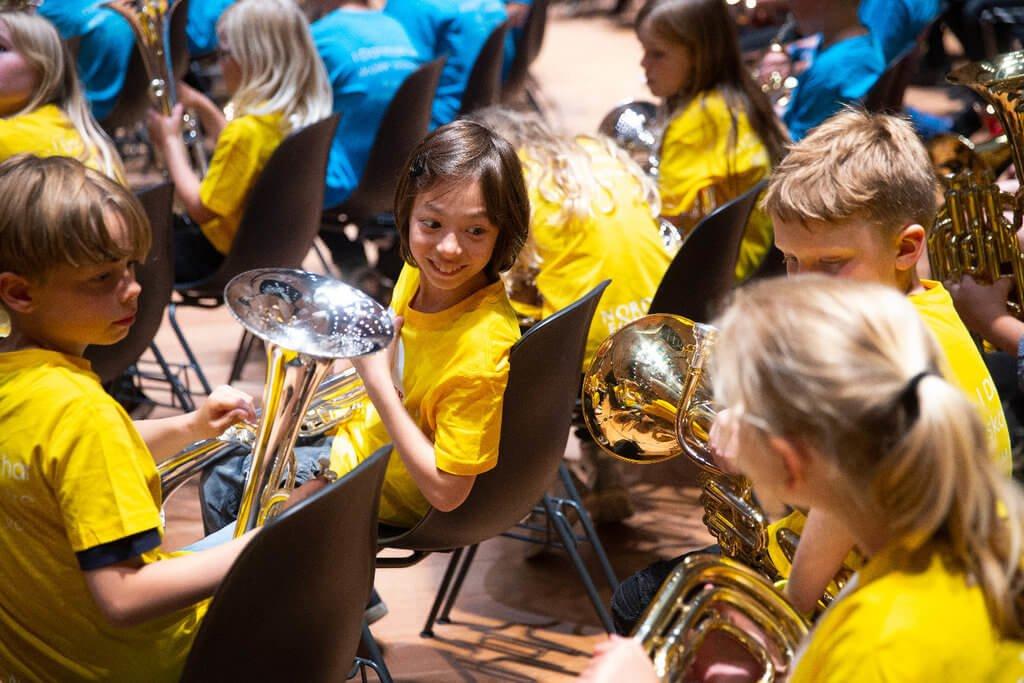 PRESSEMEDDELELSE: Flere børn får mulighed for at spille i skoleorkester