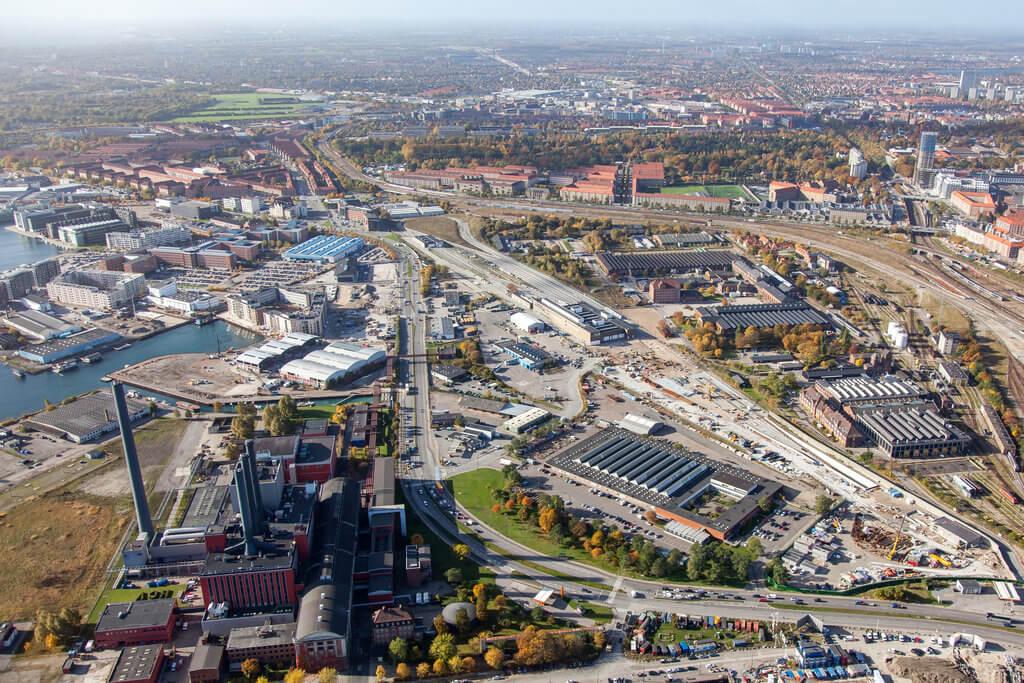 PRESSEMEDDELELSE: Jernbanebyen – København tættere på grøn, moderne bydel