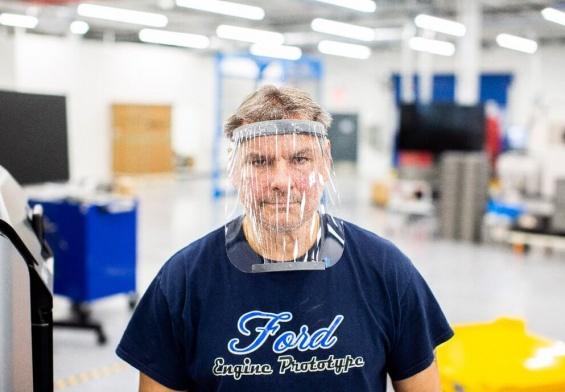 PRESSEMEDDELELSE: Ford producerer ansigtsmasker og respiratorer i samarbejde med 3M og GE Healthcare