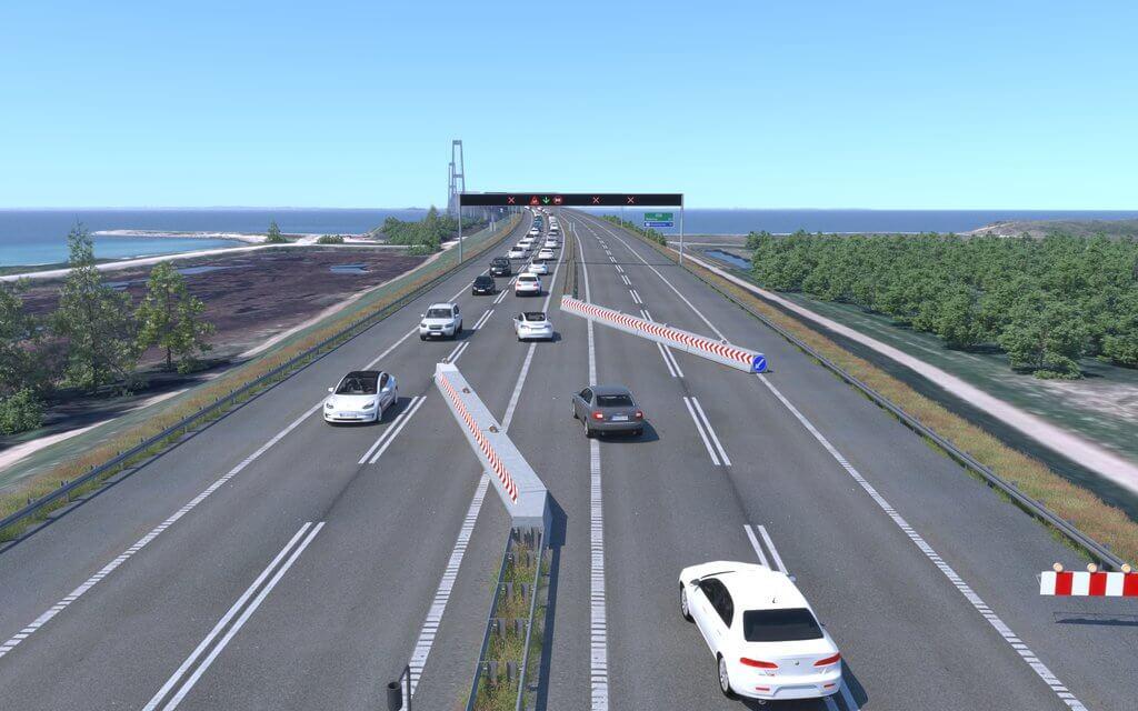 PRESSEMEDDELELSE: Storebælt skærper trafiksikkerheden