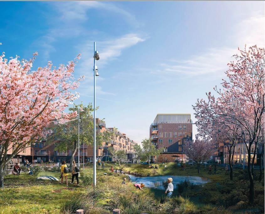 PRESSEMEDDELELSE: Topdanmark bygger 177 bæredygtige boliger i hjertet af Rødovre