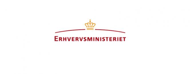 Pressemeddelelse - Erhvervsministeriet - Logo