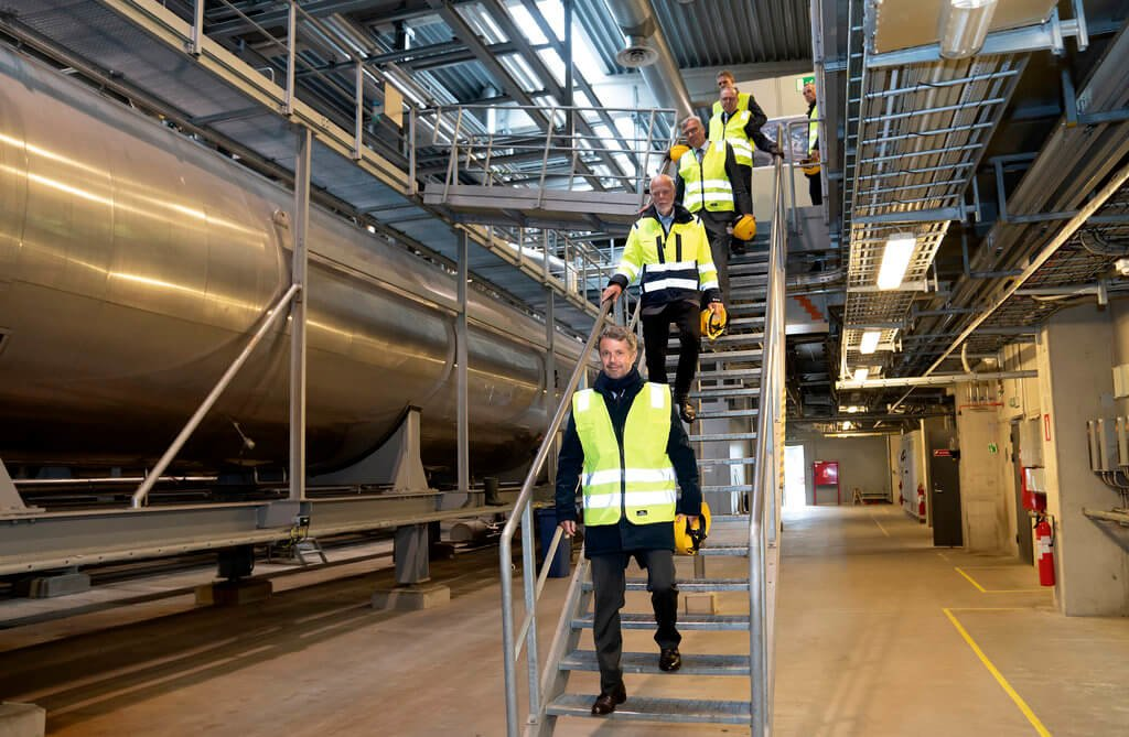 PRESSEMEDDELELSE: H.K.H. Kronprinsen besøgte dansk ethanolproduktion