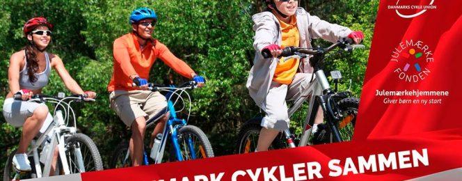 PRESSEMEDDELELSE: Danmark cykler sammen – hver for sig