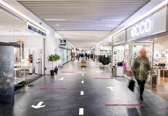 PRESSEMEDDELELSE: Sikker og forsvarlig genåbning af de danske shoppingcentre