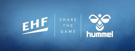 PRESSEMEDDELELSE: hummel og EHF underskriver fire-årig aftale