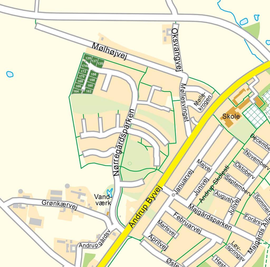 PRESSEMEDDELELSE: Byggegrunde revet væk i Andrup