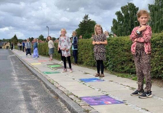 PRESSEMEDDELELSE: En halv kilometer kunst med mening indviet