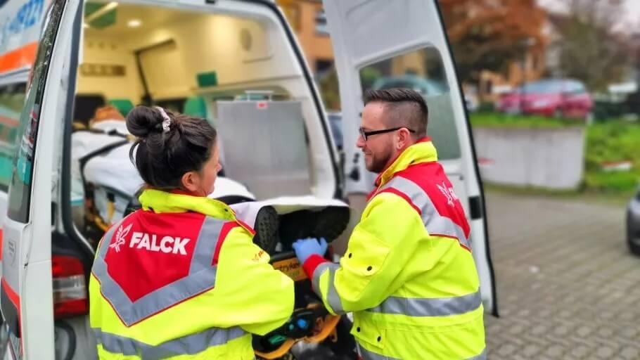 PRESSEMEDDELELSE: Falck vinder hidtil største kontrakt i Tyskland