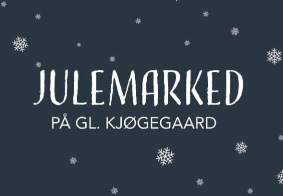 PRESSEMEDDELELSE - Julemarked på Gammel Kjøgegaard aflyses