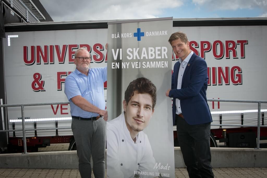 PRESSEMEDDELELSE: Blå Kors og Universal Flytteforretning samarbejder om at hjælpe udsatte i Danmark