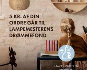 PRESSEMEDDELELSE: Ny fond, med fokus på børns drømme; Lampemesterens Drømmefond