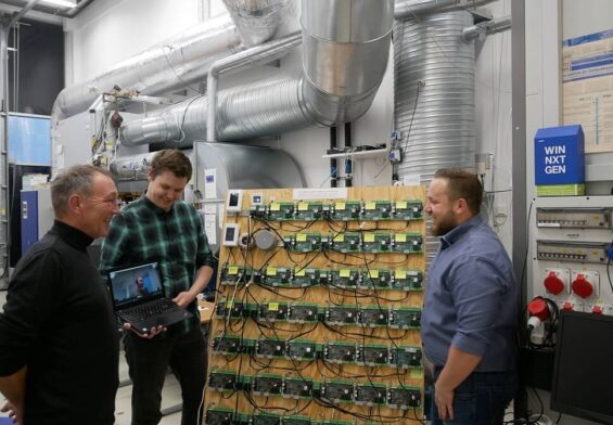 PRESSEMEDDELELSE – Innovative sønderjyske virksomheder har banet vejen til energibesparelser med Internet of Things