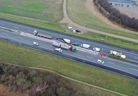 PRESSEMEDDELELSE – Storbæltsbroen lukkes kortvarigt under test af nye autoværn
