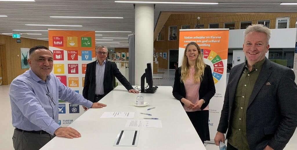 PRESSEMEDDELELSE – Ny partnerskabsaftale mellem erhvervsliv og Furesø Kommune