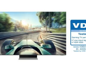 PRESSEMEDDELELSE – Samsung Neo QLED får branchens første 'Gaming TV Performance' certificering