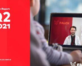 PRESSEMEDDELELSE – Falck leverede et stærkt resultat i andet kvartal