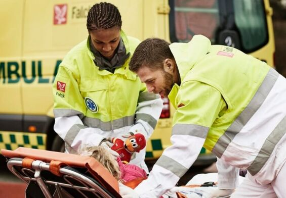 PRESSEMEDDELELSE – Falck vinder ambulanceudbud i Region Hovedstaden