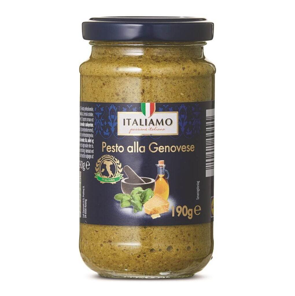 """PRESSEMEDDELELSE – Vigtig kundeinformation vedrørende """"Italiamo Pesto alla Genovese, 190 g"""""""